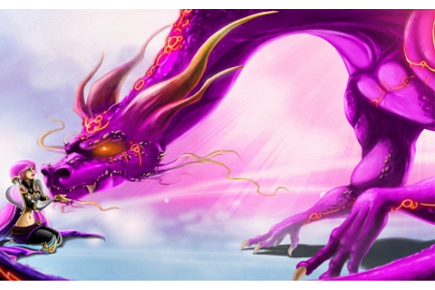 Pink dragon - Fantasy & Abstract Background Wallpapers on ...