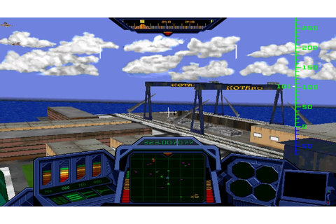 HeliCops demo (Windows game 1996) - YouTube