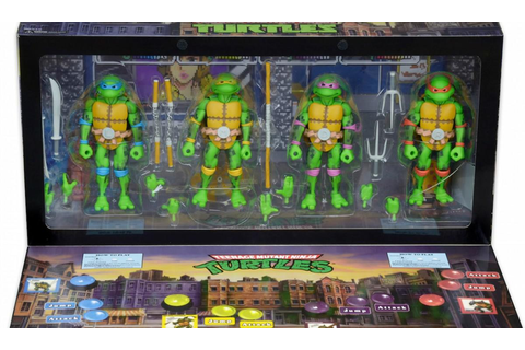 Arcade Game-Styled 'Teenage Mutant Ninja Turtles' Action ...