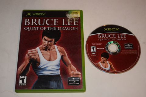 Bruce Lee Quest of the Dragon Microsoft Xbox Game Disc w ...