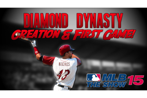 MLB 15 The Show: Diamond Dynasty - Team Creation & First ...