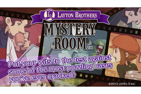 LAYTON BROTHERS MYSTERY ROOM - Android Apps on Google Play