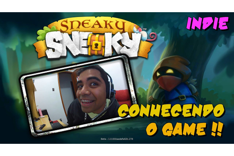 Sneaky Sneaky Game PC - Gameplay / Review (PT-BR) - YouTube