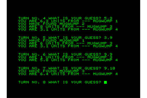 Mugwump Screenshots for Commodore PET/CBM - MobyGames