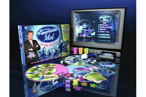 American Idol All-Star Challenge DVD Game - Board & Card ...