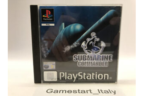 Submarine Commander-Sony ps1-Game Used Fully Functional ...