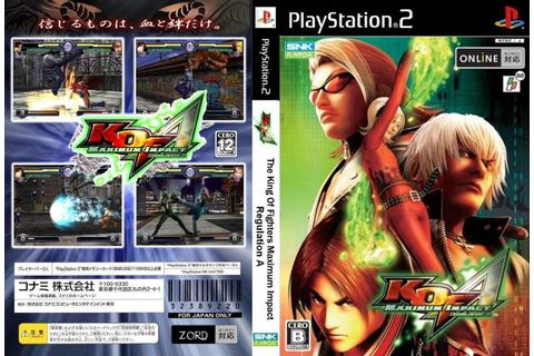KML GAMES: The King Of Fighters: Maximum Impact Regulation