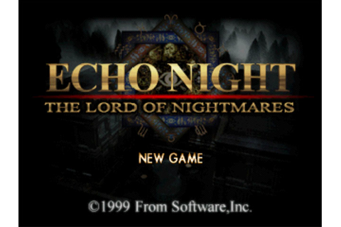 Echo Night 2: The Lord of Nightmares [psx][Ntsc][ingles ...