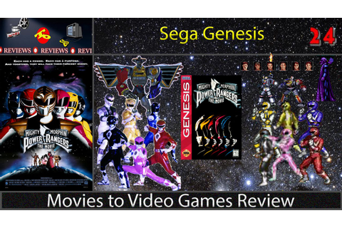 Movies to Video Game Review -- Mighty Morphin Power ...