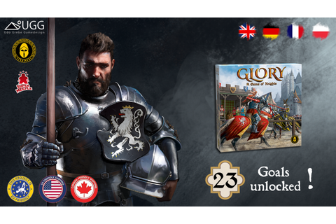 Glory: A Game of Knights by Strategos Games — Kickstarter