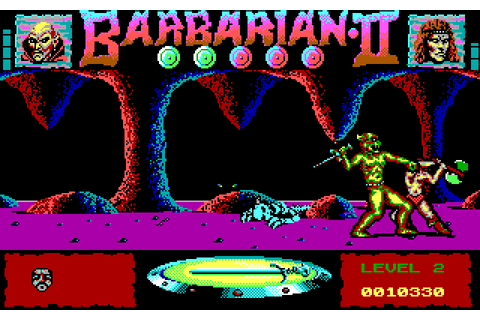 Barbarian II: The Dungeon of Drax (1989 - DOS). Ссылки ...
