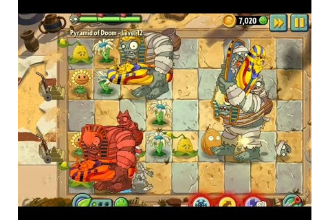 Plants vs Zombies 2 It's About Time Gameplay Walkthrough ...