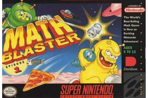 Math Blaster: Episode 1 (SNES) on Collectorz.com Core Games