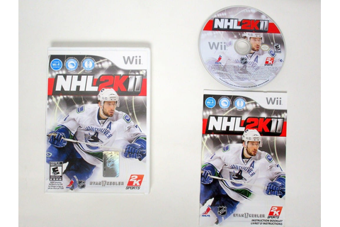 NHL 2K11 game for Wii (Complete) | The Game Guy