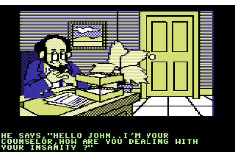 The Institute (1983) by Screenplay C64 game