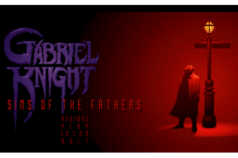 Gabriel Knight Sins Of The Fathers (1993)(Sierra Online) Game