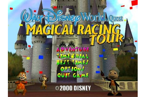 Fun Games: Walt Disney World Quest Magical Racing Tour ...