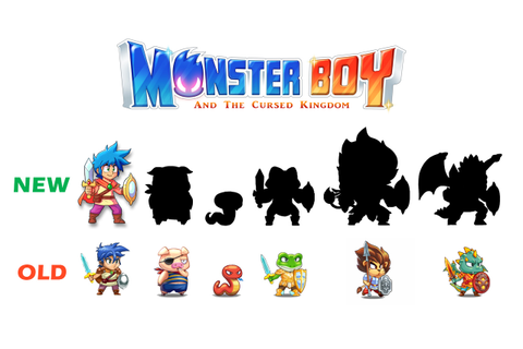 Monster Boy And The Cursed Kingdom Getting Hand-Drawn ...
