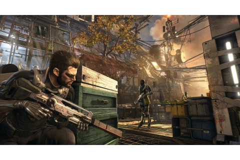 Deus Ex, Weapon, Adam Jensen, Cyberpunk, Science Fiction ...