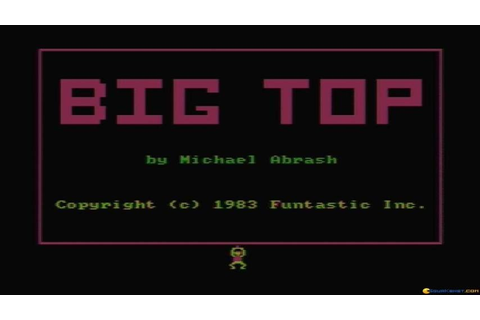 Big Top gameplay (PC Game, 1983) - YouTube