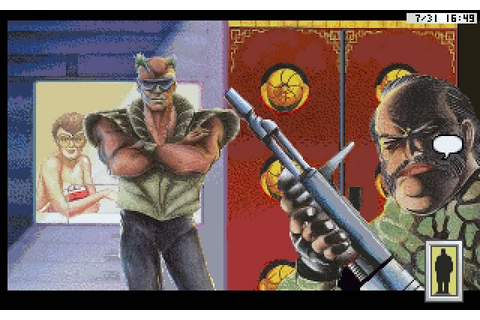 Download Rise of the Dragon adventure for DOS (1990 ...