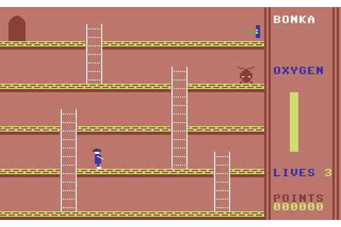 Bonka (1983) by J. Morrison Micros C64 game