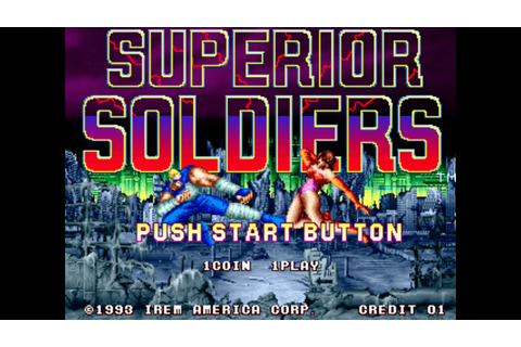 Superior Soldiers (All Characters Gameplay) - Arcade ...