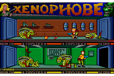 Xenophobe (1989) by Visage Software Amiga game