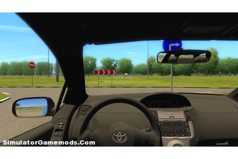 Toyota Yaris - Game Version 1.2.4 | Simulator Games Mods ...