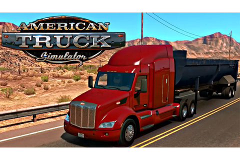 American Truck Simulator - Testando o game - YouTube