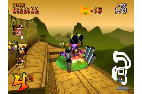 Classic Game - Crash Team Racing - Play as N. OXIDE - YouTube
