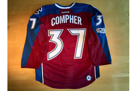 Colorado Avalanche Game Worn Jerseys: June 2017