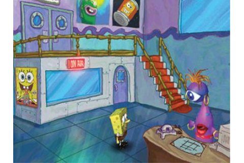SpongeBob Square Pants: Employee of the Month Game ...