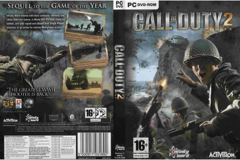 Games Covers: Call Of Duty 2 - PC Game