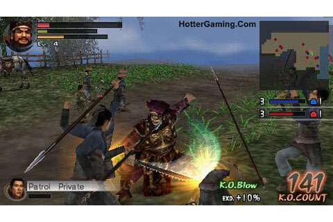 Dynasty Warriors Vol 2 PSP Game Free Download ~ Full Games ...