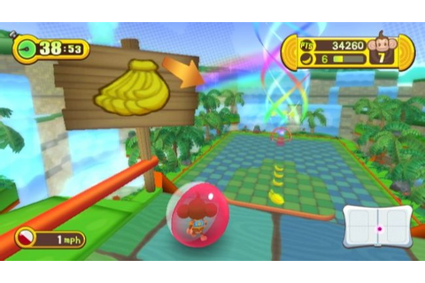 Super Monkey Ball Step & Roll - WII - Review