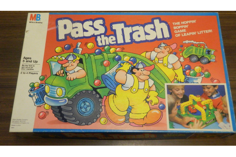 Pass the Trash Board Game Review and Rules | Geeky Hobbies