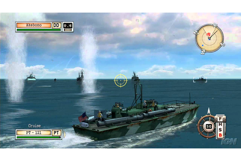 Battlestations: Midway Xbox 360 Gameplay - Lombok PT Boat ...