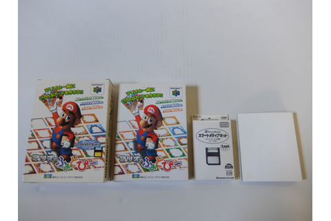 Nintendo 64 Mario no Photopi & SmartMedia Reader Game 1998 ...