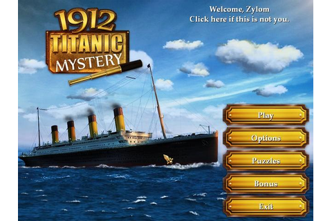 1912 Titanic Mystery Online Free Game | GameHouse