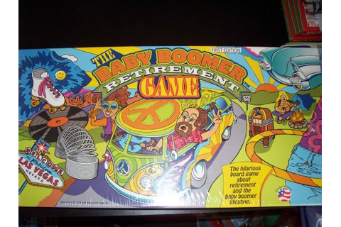 Baby Boomer Retirement Game - FindGift.com