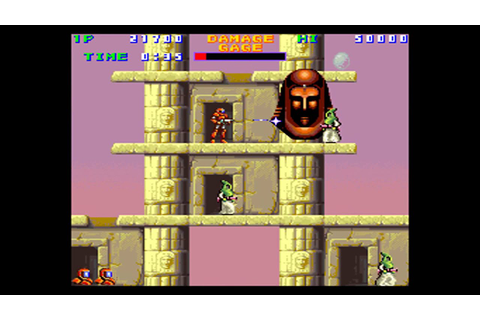 Xain'd Sleena (bootleg, bugfixed) [MAME] [shortplay] - YouTube