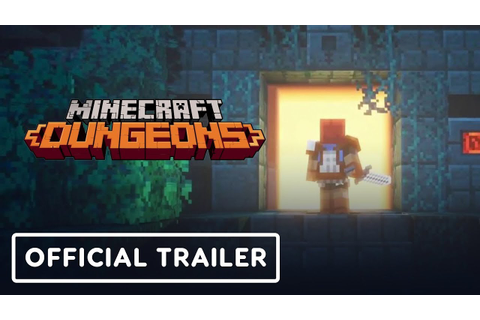 Minecraft Dungeons Gameplay Trailer - E3 2019 - YouTube