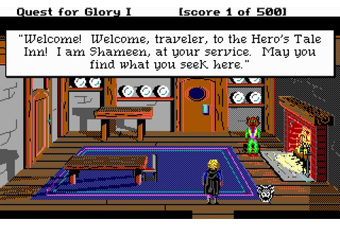 Quest for glory 1: So you want to be a hero adventure for ...