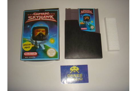 Captain Skyhawk - Nintendo NES | Game Galleria