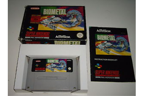 BioMetal Super Nintendo SNES Game Complete PAL UK | eBay