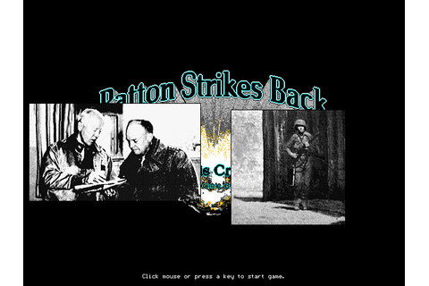 Patton Strikes Back: The Battle of the Bulge (1991 - DOS ...