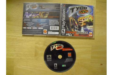 Tyco R/C: Assault With a Battery (PlayStation, 2000 ...