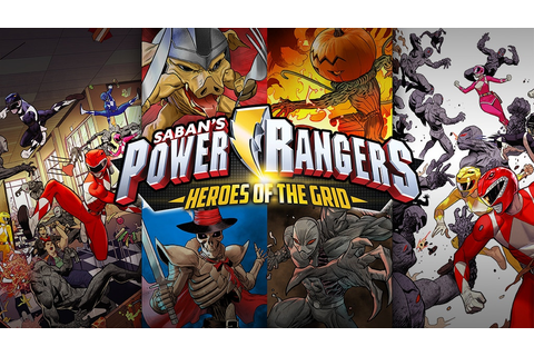 Power Rangers: Heroes of the Grid Board Game by Renegade ...