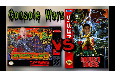 Console Wars - Ghouls 'n Ghosts vs Super Ghouls 'n Ghosts ...